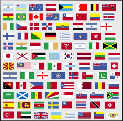 ApplicantsFlags Of Countries Around The World