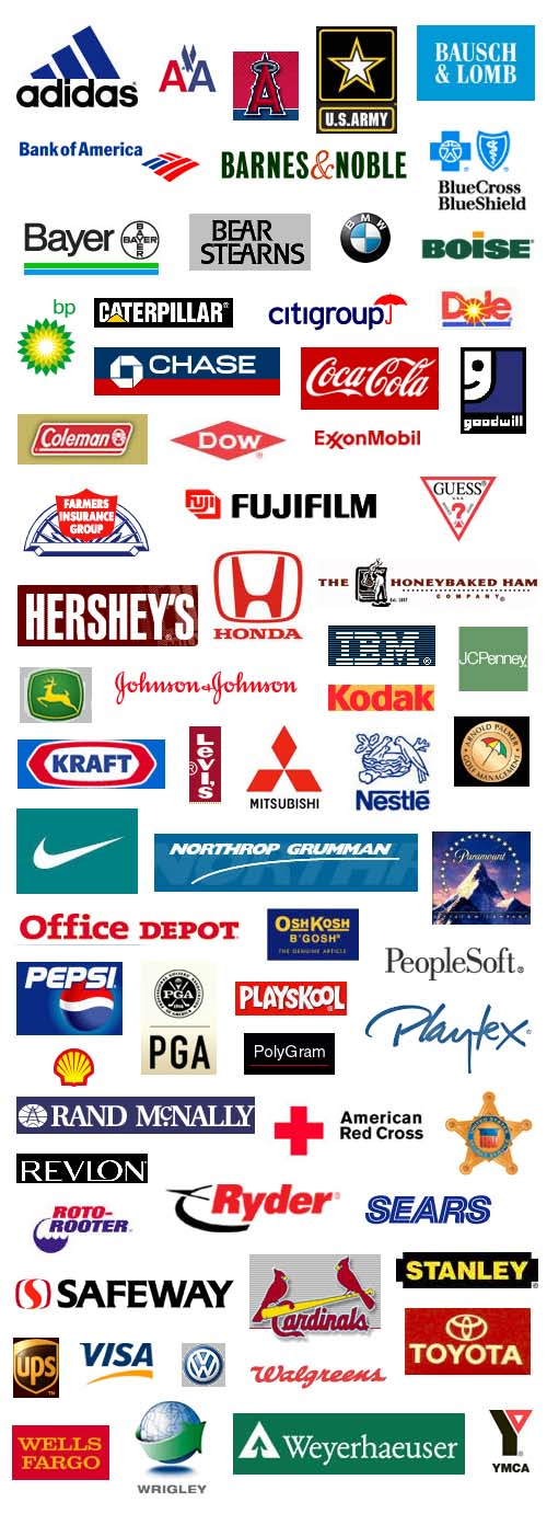 and logos are trademarks and property of their respective companies